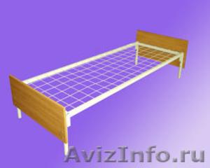 кровати металлические одноярусные, кровати двухъярусные для студентов и военых - Изображение #6, Объявление #692010