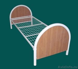 кровати металлические одноярусные, кровати двухъярусные для студентов и военых - Изображение #2, Объявление #692010