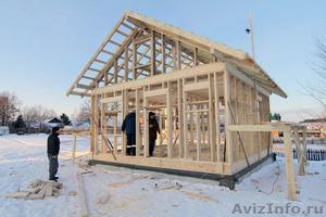 В городе Пенза строим каркасные дома под ключ - Изображение #1, Объявление #1227123