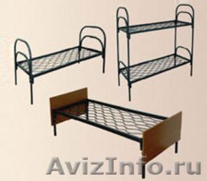Металлические кровати для бытовок, кровати для вагончиков, для лагерей - Изображение #5, Объявление #1479824
