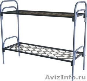 Кровати металлические трёхъярусные, кровати для школ, кровати металлические опт - Изображение #1, Объявление #1479361