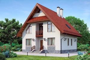 Проекты домов из пеноблоков и строительство в Пензе - Изображение #1, Объявление #1582048