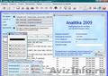 Analitika 2009 - Бесплатное ПО для учета и анализа деятельности организации