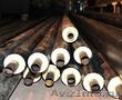 Реализация стальной трубы,  изолируем пленкой (ВУС),  ППУ и ППМИ.