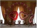 Оформление гелеыми шарами!Свадьбы, выпускные!!!