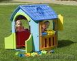 Детский игровой домик Marian Plast (гараж+кухня)