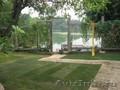 Ландшафтный дизайн и озеленение в Пензе,  рулонный газон