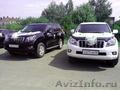 Аренда Land Cruiser Prado 150 Черный и Белый на свадьбу!