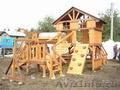 Детские площадки из натурального дерева. Игровые комплексы. - Изображение #2, Объявление #1250118