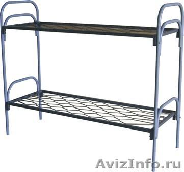 Кровати металлические трёхъярусные, кровати для школ, кровати металлические опт, Объявление #1479361