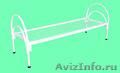 Кровати металлические одноярусные, для бытовок, кровати для студентов - Изображение #3, Объявление #1478961